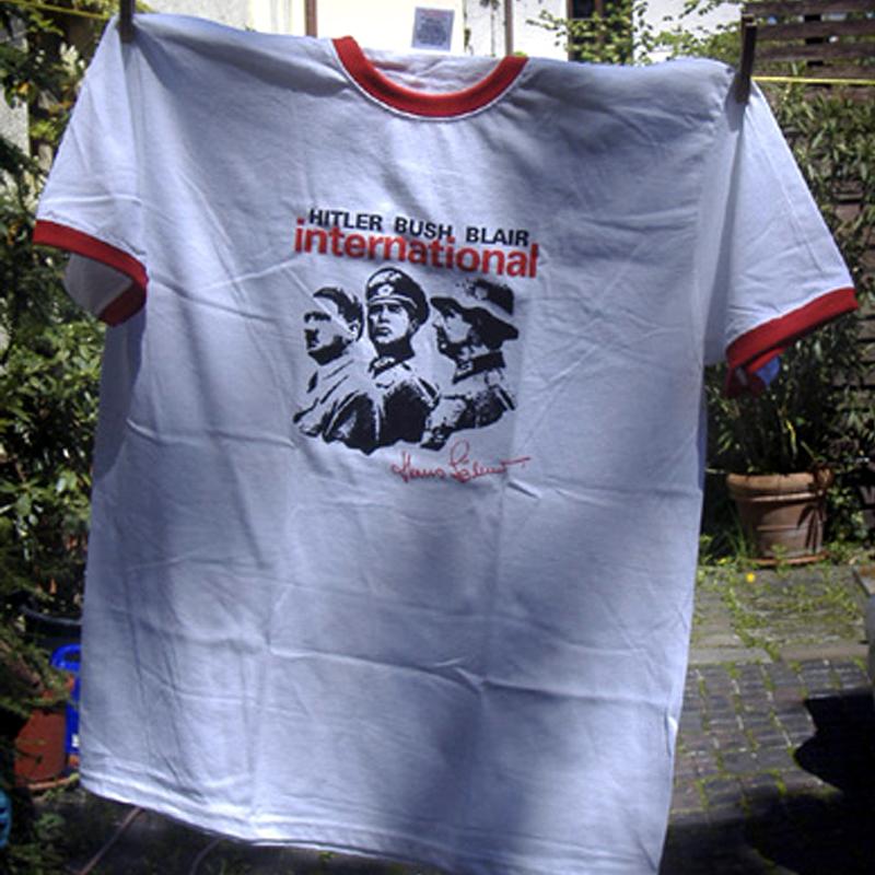Hans Söllner - Hitler Bush Blair - T-Shirt