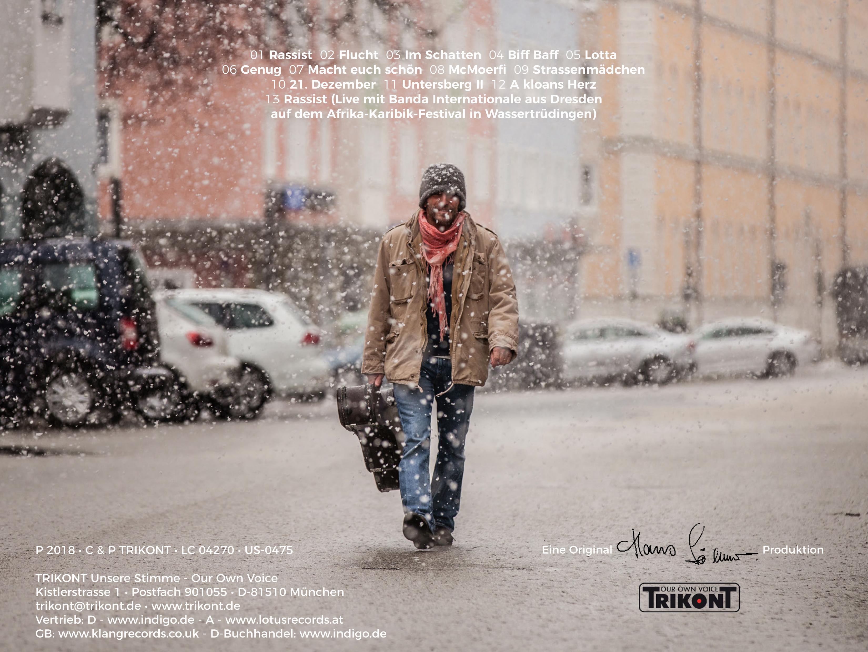 Hans Söllner - Genug - LP, CD, MP3 1